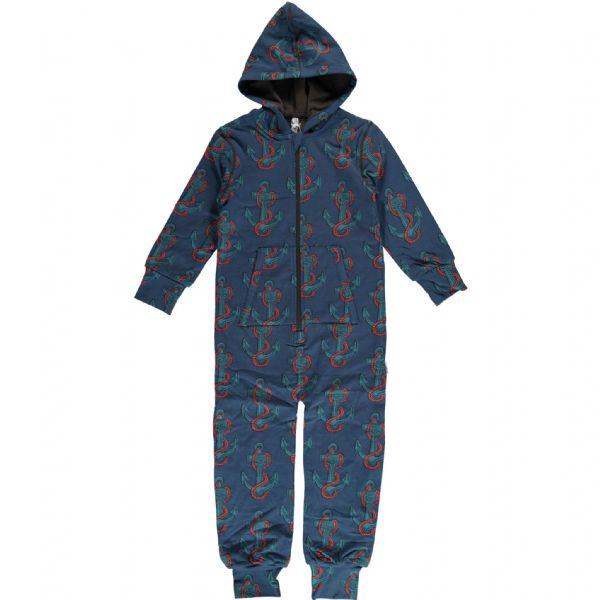 Maxomorra Hooded Onesie Anchor